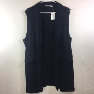 Chico's Travelers Classic Blue Vicky Duster Vest
